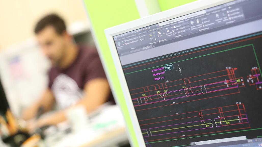 Hahner Technik CAD Büro verbunden mit dem Internet – Bernhard Hahner