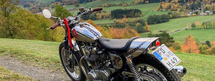 Yamaha Motorrad in den Bergen – Bernhard Hahner Blog